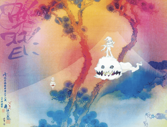 Kanye West and Kid Cudi's Kids See Ghosts artwork