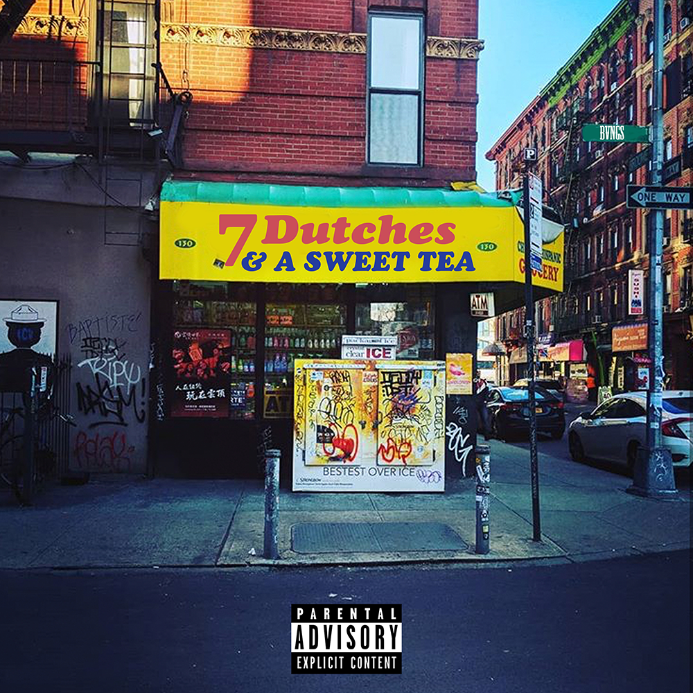BVNGS' cover art for 7 Dutches & A Sweet Tea