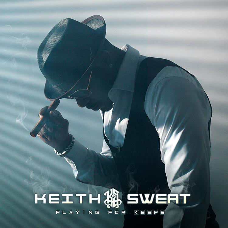 Keith Sweat's cover art for 'Playing for Keeps'
