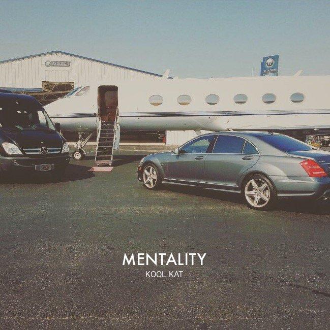 Kool Kat's cover art for Mentality