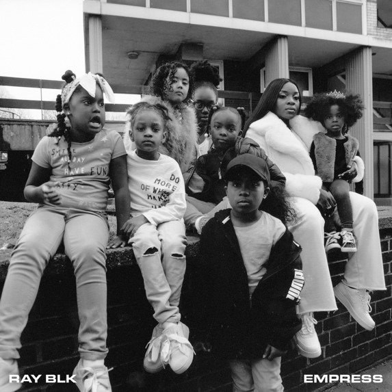 Ray BLK's cover art for her 'Empress' EP