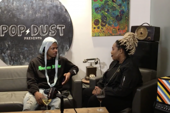 Richardine Bartee guest hosts Popdust Presents, interviews Ro Ransom