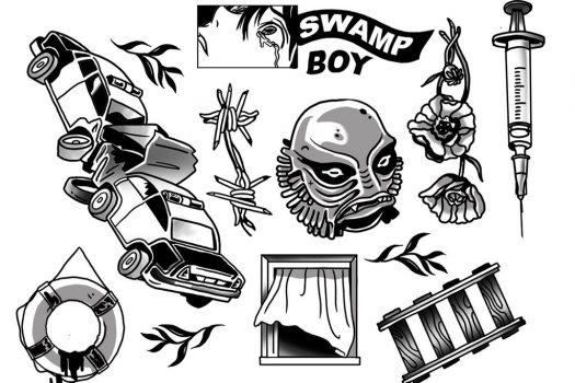 Hear Butch Dawson's rousing brand of Rap-Rock on his latest 'Swamp Boy'