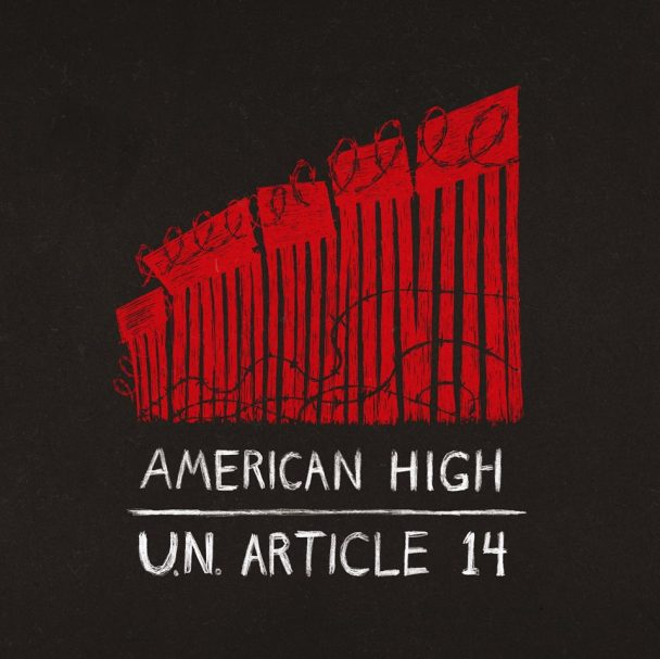 America High's 'UN Article 14' cover art