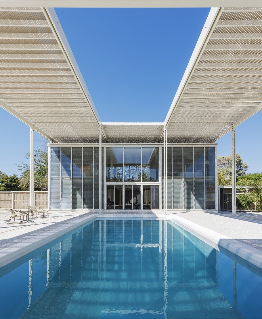 Sarasota Architectural Foundation - Umbrella pool shot