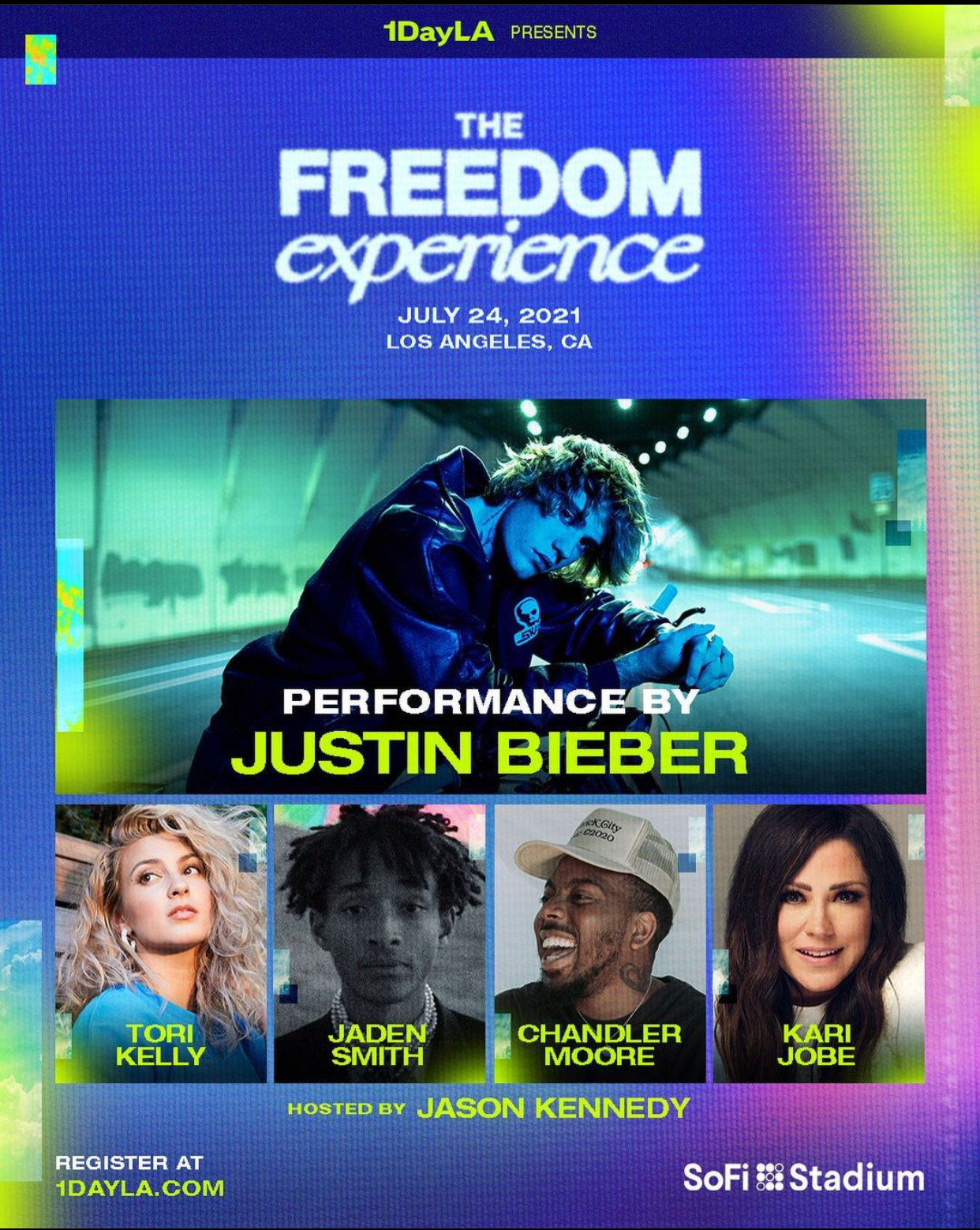 Missions.Me 1DayLA Event Kicks Off with Justin Bieber, Tori Kelly, and Chance the Rapper to Appear in Closing Concert